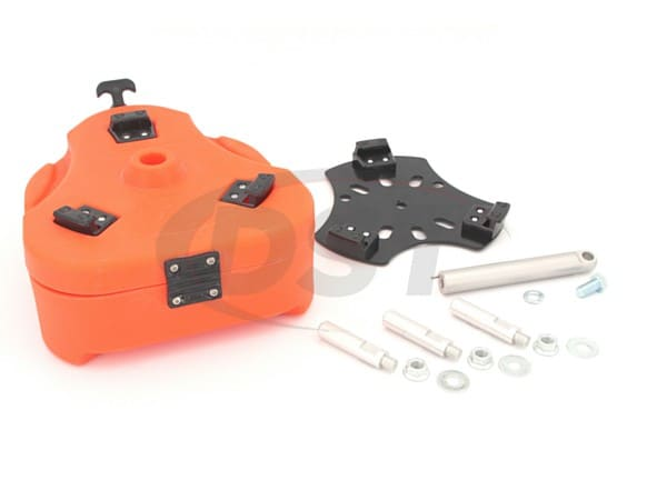 Jeep Cam Can Trail Box Kit - Orange