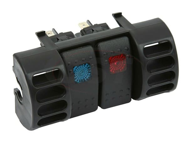 Upper Air Vent Switch Panel - 2 Rocker Switches