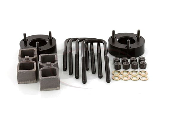 Suspension Lift Kit Combo - 2-1/2 Inch Front 1-1/2 Inch Rear