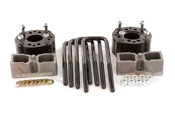 Suspension Lift Kit Combo - 3 Inch Front 2 Inch Rear