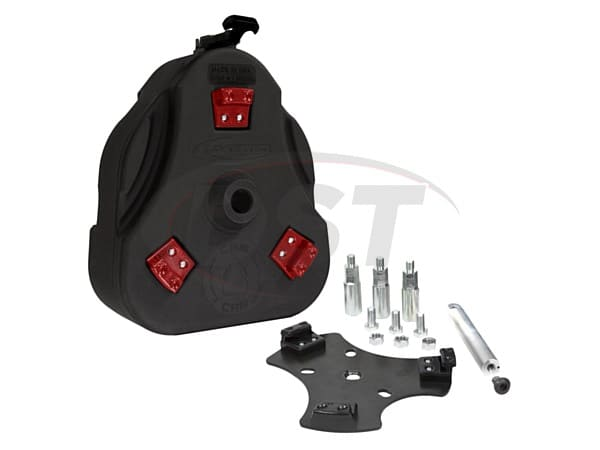 FJ Cruiser Cam Can Kit - Liquid Transfer - Black