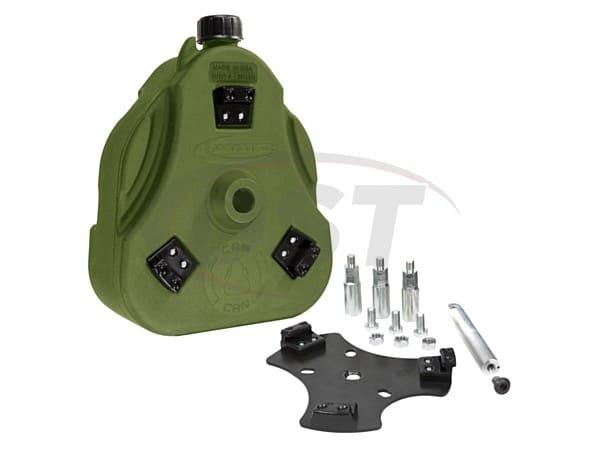 FJ Cruiser Cam Can Kit - Liquid Transfer - Green