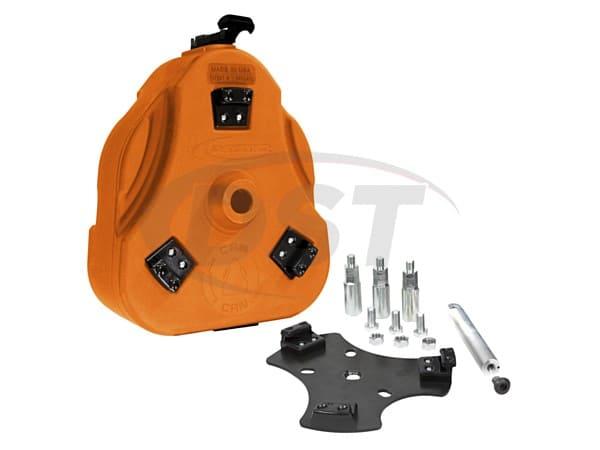 FJ Cruiser Cam Can Trail Box Kit - Orange