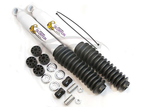 Front Shock Absorber - 2 Inch Lift
