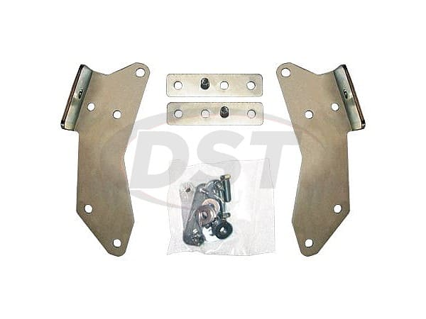 Rear Bumper Bracket Kit -  3 Inch - Gas Models -  (Full Size Pickup Only)