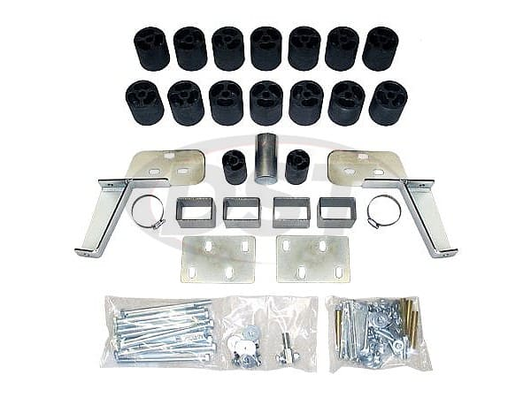 pa10013 Body Lift Kit - 3 Inch Lift - Gas Engine - Automatic Transmission