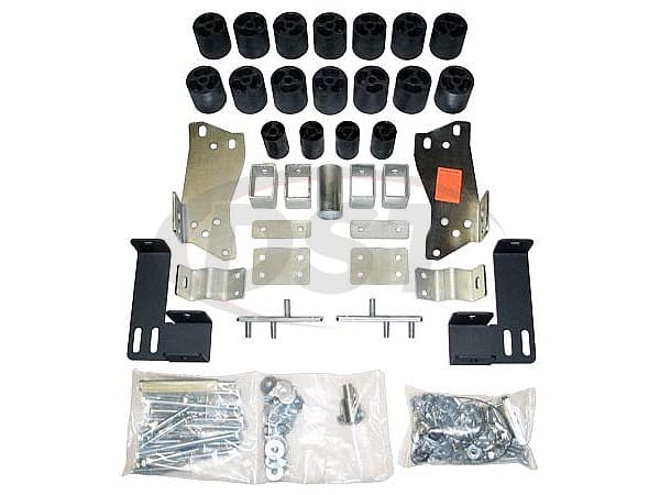 pa10053 Body Lift Kit - 3 Inch Lift