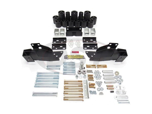 pa10193 Body Lift Kit - 3 Inch Lift - Automatic