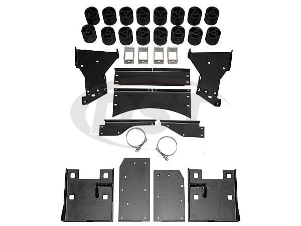 pa10313 Body Lift Kit - 3 Inch Lift - Diesel