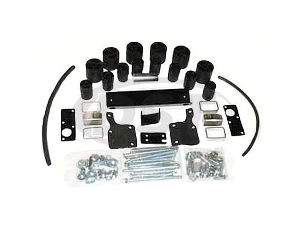 pa4063 Body Lift Kit - 3 Inch Lift - Standard/Extended Cab - Manual Transmission