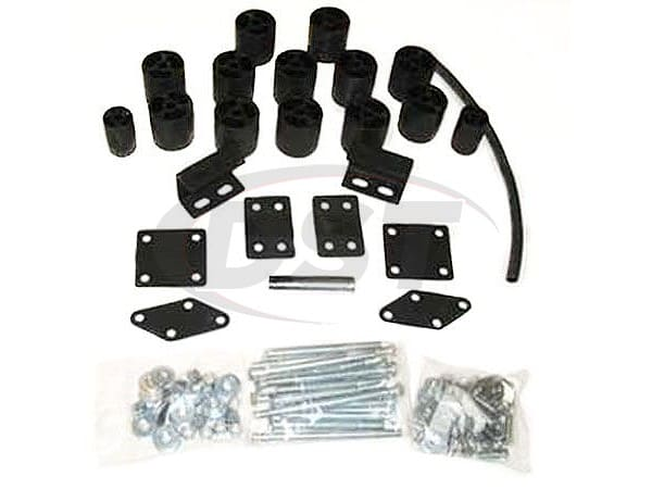pa60003 Body Lift Kit - 3 Inch Lift