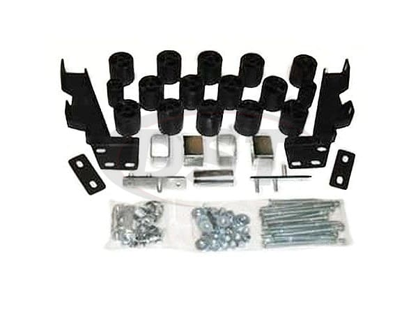 pa60013 Body Lift Kit - 3 Inch Lift
