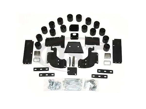 pa60123 Body Lift Kit - 3 Inch Lift