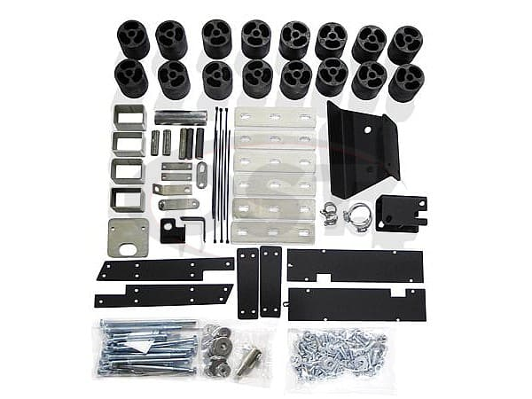 pa60213 Body Lift Kit - 3 Inch Lift - Diesel