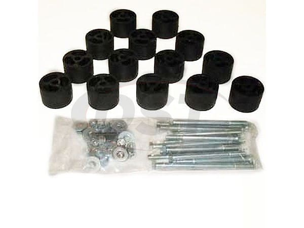 Ford F250 4WD 1978 Body Mount Bushings Kit - 2 Inch Lift