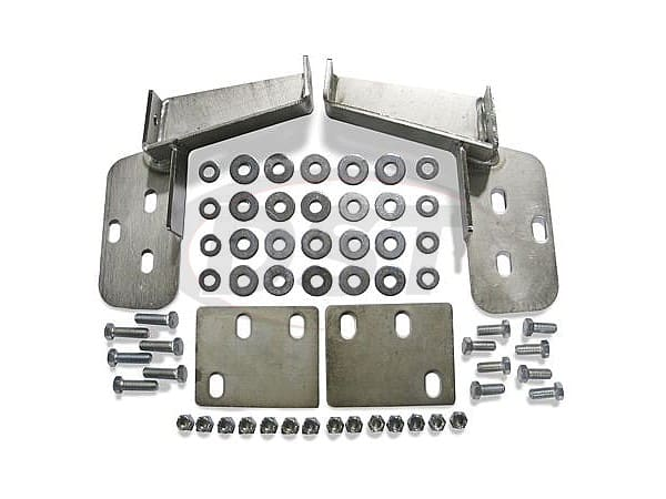 Front Bumper Brackets - 2 Inch - Gas Models Only