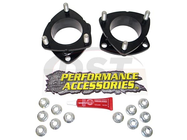 padl233pa Front Leveling Kit - 2 Inch - 4wd - Gas Models Only