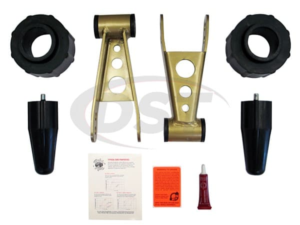pajl240pa Lift Kit - 2 Inch - Front and Rear - Budget Lift