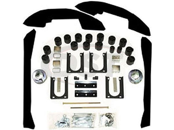 papls606 Lift Kit - 5 Inch - Gas Models Only - (Fits Std/Ext/Quad Cabs)