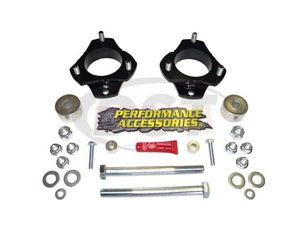 patl227pa Front Leveling Kit - 2.25 Inch - Gas Models - (6 lug Only)