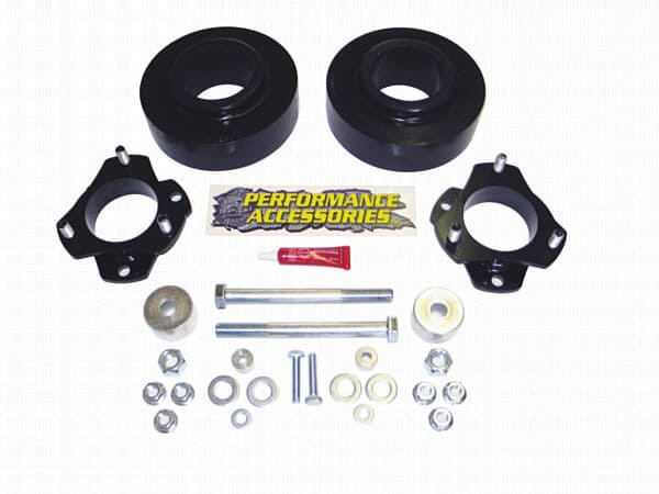 patl228pa Leveling Kit - 2.25 Inch Front - 2 Inch Rear - (2wd/4wd)