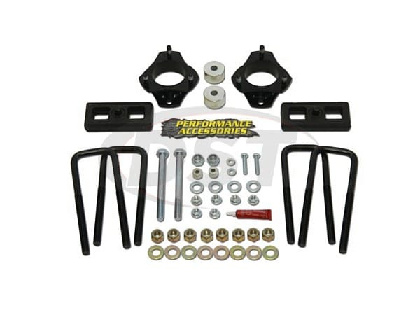Lift Kit and Leveling Kit - 2.5 Inch Front 1 Inch Rear