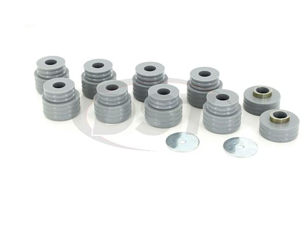 Body Mount Bushings Kit - Kevlar - Ford F450 and F550 Super Duty 99-15