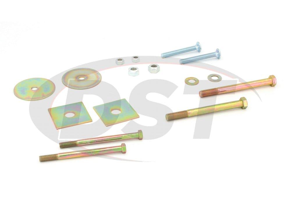 Hardware Kit for Body Mount Bushings - 1967-1972 Chevy/GMC C10/C15