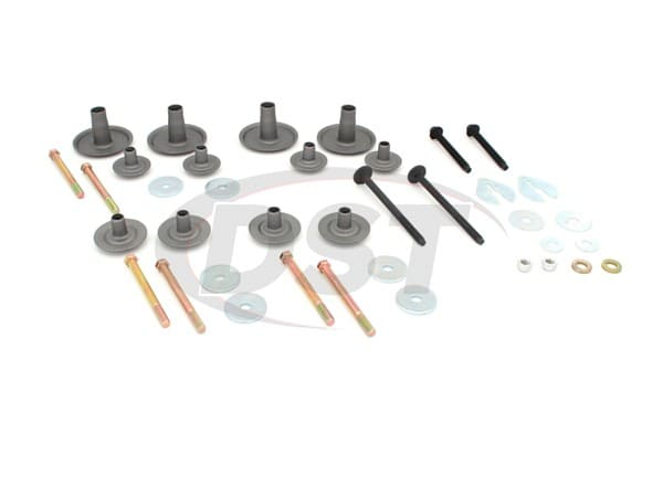 Hardware Kit for Body Mount Bushings - 1980-1996 Ford Bronco