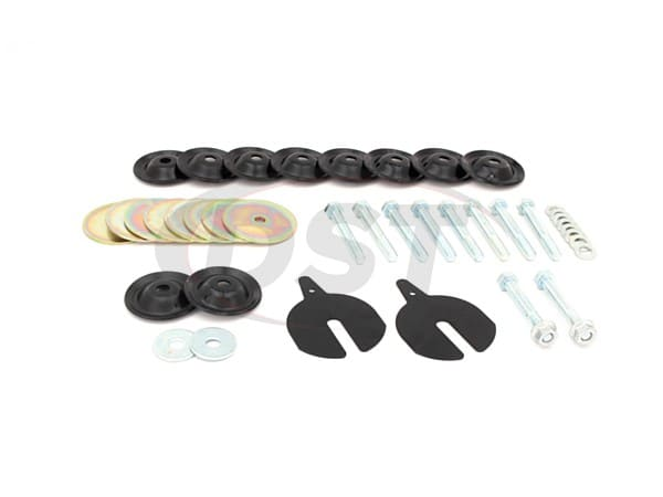 Hardware Kit for Body Mount Bushings -  1983-2004 Chevy S10Blazer/S15Jimmy - 2 Door