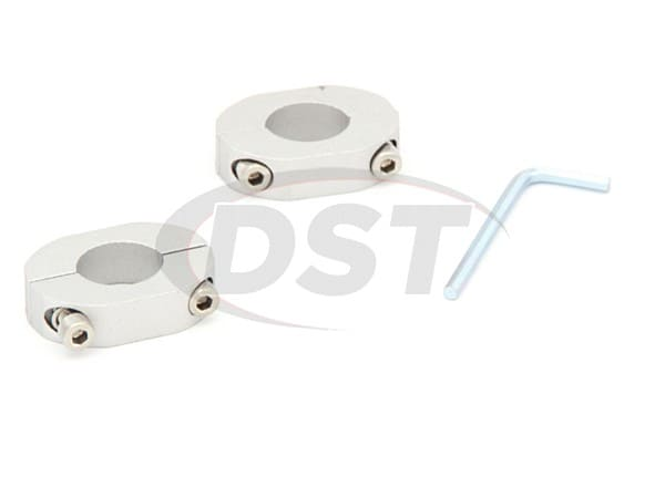Rear Sway Bar Lateral Locks - 17-18mm