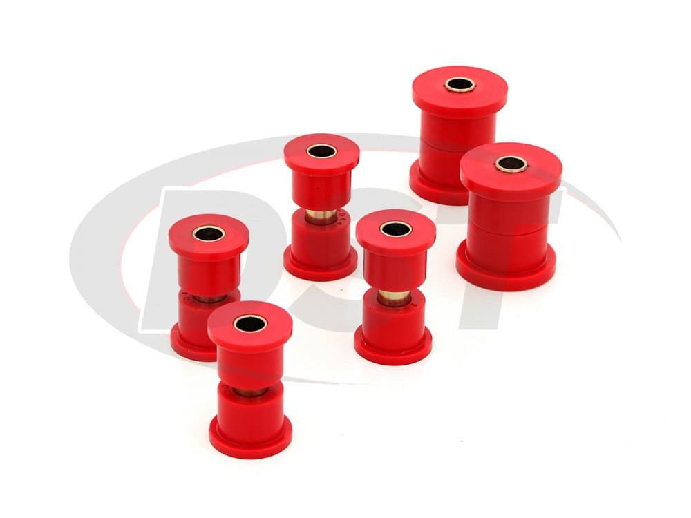 1.2102 Front Leaf Spring Bushings - for use with Aftermarket Shackles