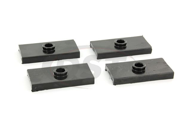Rear Leaf Spring Pad Set