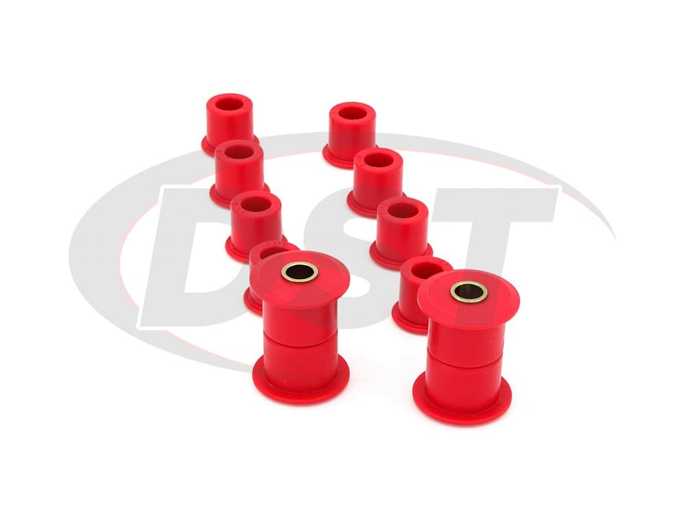 14.2102 Rear Leaf Spring Bushing Set