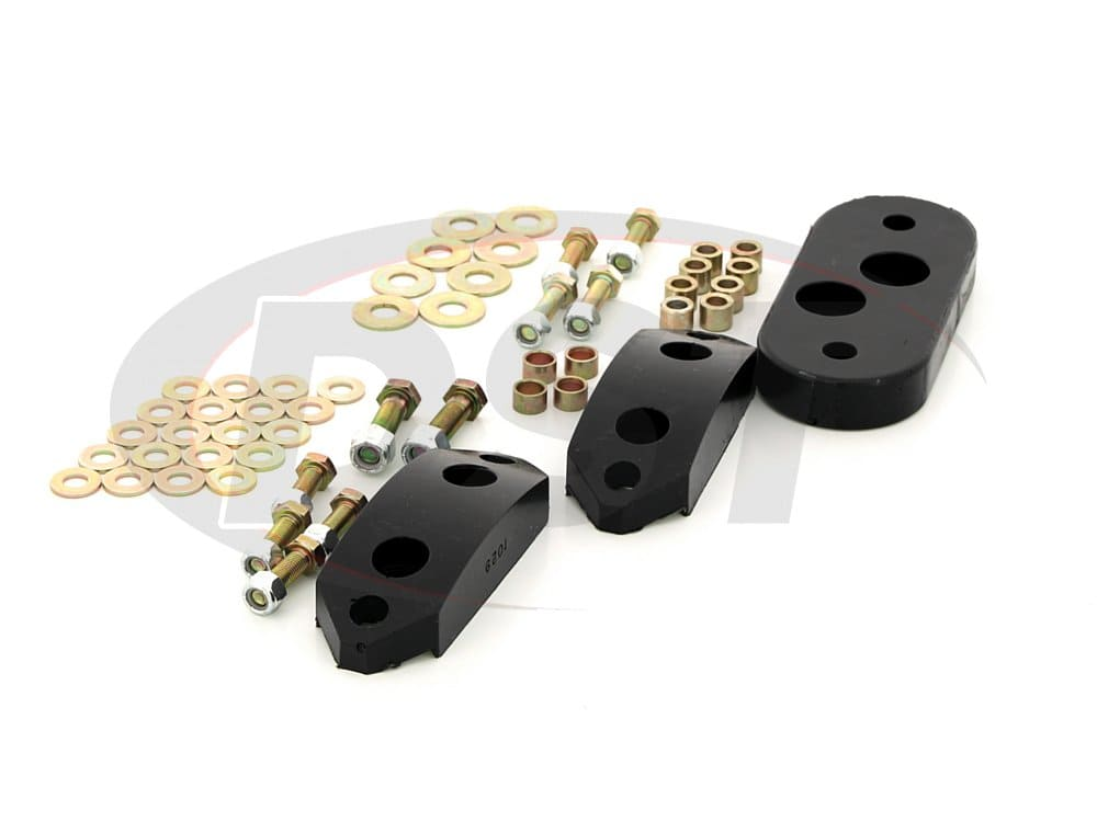 15.1101 Tranny and Motor Mount Bushings (Includes Hardware)