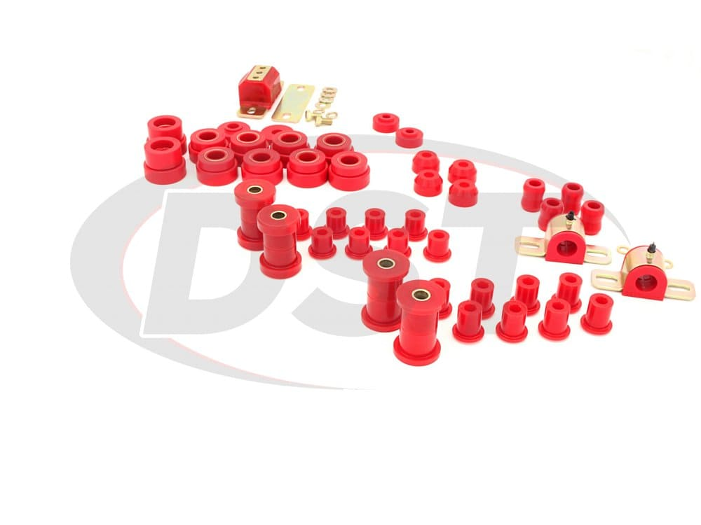2.18102 Complete Suspension Bushing Kit - Jeep CJ7 80-86