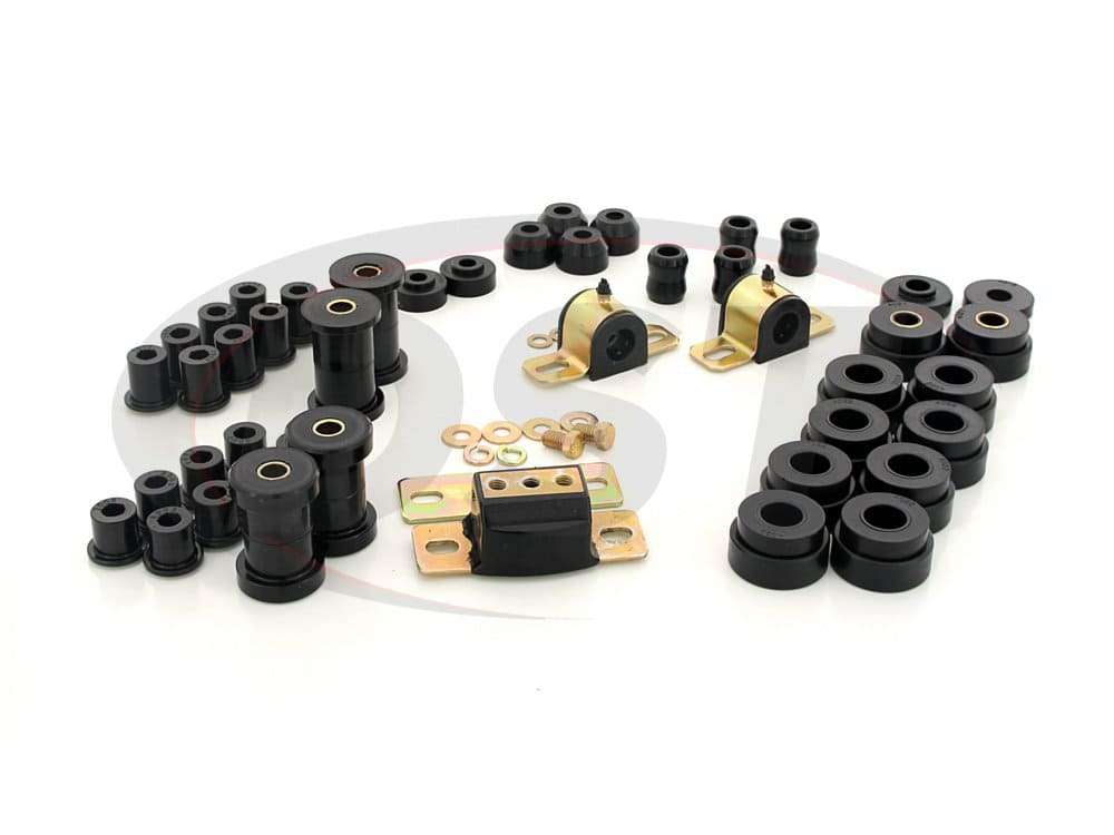 2.18103 Complete Suspension Bushing Kit - Jeep CJ5 and CJ7 76-79