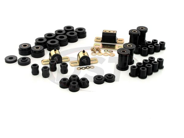Complete Suspension Bushing Kit - Jeep CJ5 and CJ7 76-79