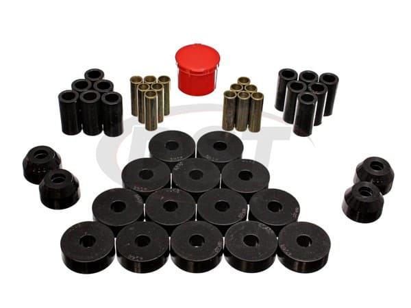 Complete Suspension Bushing Kit - Jeep CJ5 55-75
