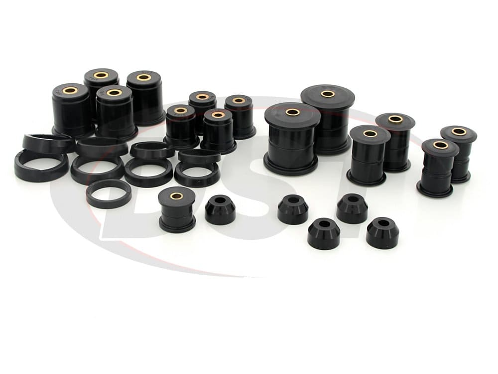 complete suspension bushing kit jeep cherokee 84 01. Black Bedroom Furniture Sets. Home Design Ideas