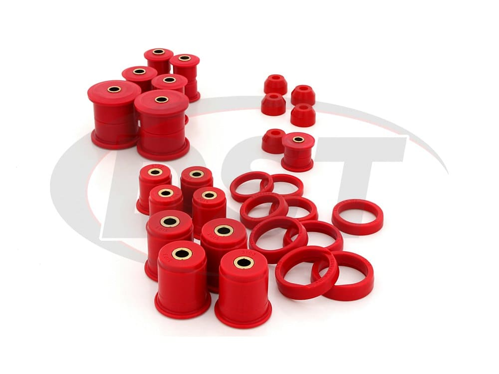2.18105 Complete Suspension Bushing Kit - Jeep Cherokee 84-01 - 4WD Only