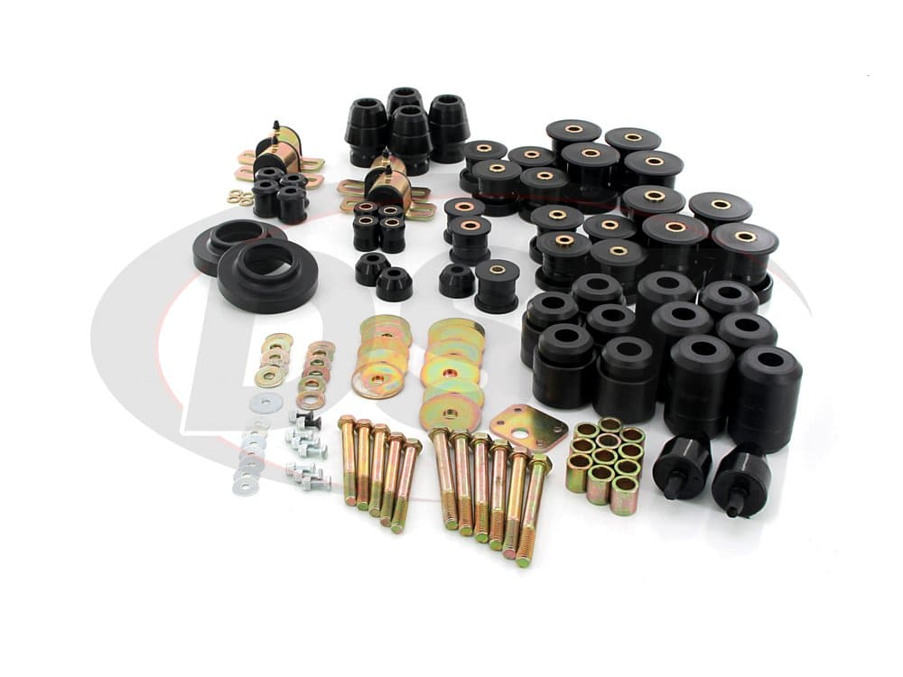 2.18106 Complete Suspension Bushing Kit - Jeep TJ 97-04 - with 1 Inch Body Lift