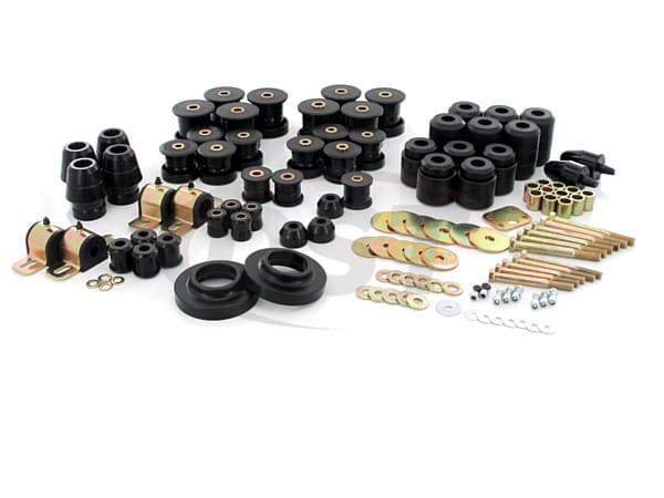 Complete Suspension Bushing Kit - Jeep TJ 97-04 - with 1 Inch Body Lift