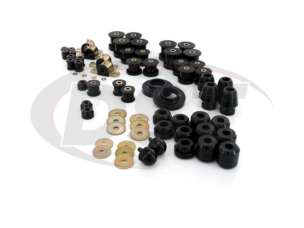 2.18107 Complete Suspension Bushing Kit - Jeep Wrangler TJ 97-06