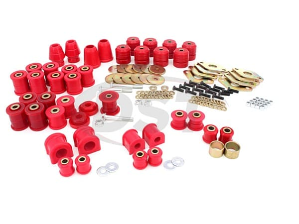 2.18109 Complete Suspension Bushing Kit - Jeep Wrangler JK 07-14 - 2 Door