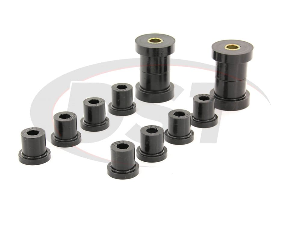 2.2115 Front Leaf Spring Bushings - for use with Aftermarket Shackles
