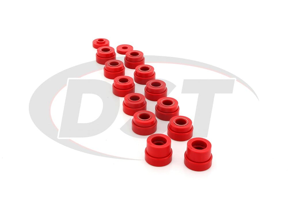 2.4104 Body Mount Bushings and Radiator Support Bushings - CJ8 ONLY