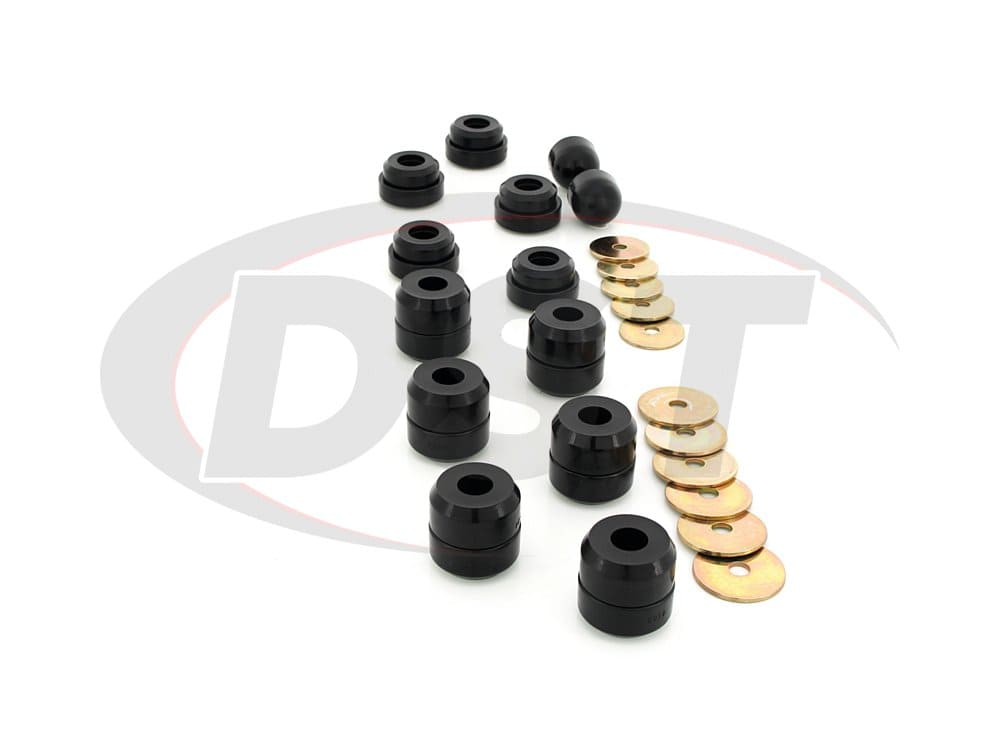 2.4107 Body Mount Bushings and Radiator Support Bushings