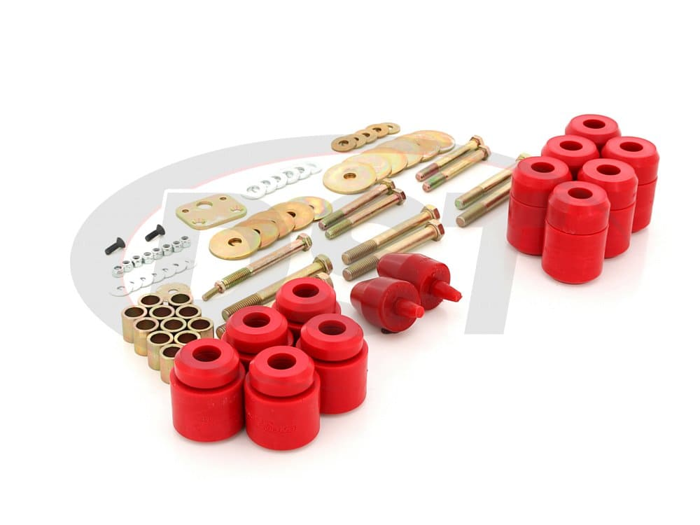 2.4108 Body Mount Bushings Kit - 1 Inch Lift