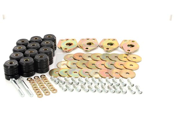 Body Mount Bushings Kit - 4 Door